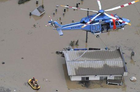 ဂျပန်မှာ ရေကြီး၊မြေပြိုလို့ သေဆုံးသူ အယောက်၂၀ထက်မနည်း ရှိလာ