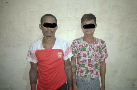 ကျပ်သိန်း(၁၅၀)ကျော်တန်ဖိုးရှိတဲ့ ရွှေထည်ပစ္စည်းတွေခိုးသူနှစ်ဦးကို ဖျာပုံမြို့မှာ ဖမ်းမိ