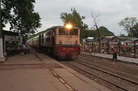 ပုသိမ်-ဟင်္သာတ- ကြံခင်း အမြန်ရထားပြေးဆွဲမှု ယာယီရပ်နား