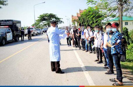 ထိုင်းရောက် မြန်မာနိုင်ငံသား (၁၀၀)ကျော် နေရပ်ပြန်ပို့ ခံရ