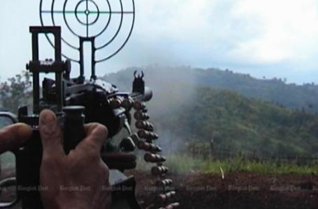 လက်နက်ကြီးကျည်ကျရောက်မှု မြန်မာစစ်တပ်ကို ထိုင်းစစ်တပ်သတိပေး