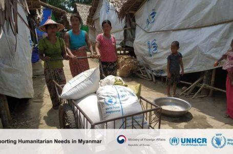 တောင်ကိုရီးယားက မြန်မာနိုင်ငံအတွက် အမေရိကန်ဒေါ်လာ ၁ ဒဿမ ၃သန်း လှူမယ်